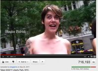 OWS Teachers Aide also NUDE Protestor (VIDEO) Warning Nudity | the