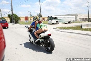 Bangbros Clips Sophia Steele Riding Naked On Motorcycles
