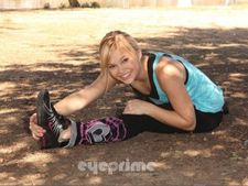 Olivia Holt – out and about exercise candids in Los Angeles, March