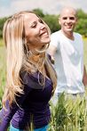 Young Couple Enjoying Themselves Stock Photo  Image: 13831620