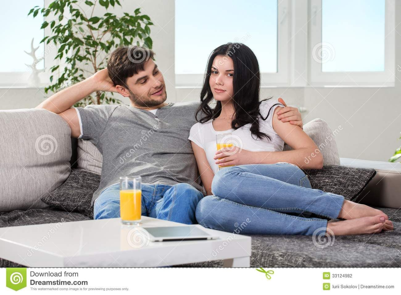Teen Couple Couch Porn