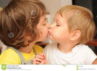 Kissing Sisters Stock Photos  Image: 7073093