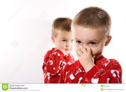 Male Twins In Pajamas  Stock Photography  Image: 2037952