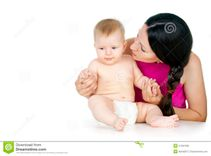 Mom And Baby Royalty Free Stock Images  Image: 27297339