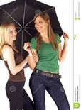 Young Woman With Umbrella Stock Image Nude and Porn Pictures