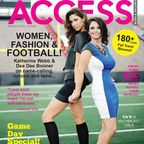 Katherine Webb Featured with AJ McCarron's Mom on Magazine Cover