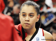 Shoni Schimmel was nowhere to be found during the second half of the