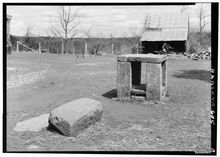 File:Slave auction block1 Green Hill Plantation.jpg  Wikimedia