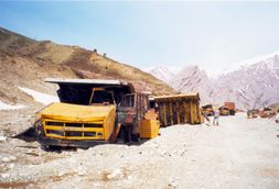 File:Destroyed Dump Trucks in Tajikistan.jpg  Wikimedia Commons
