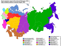 of Military Districts of Russian Empire 1913 png  Wikimedia Commons
