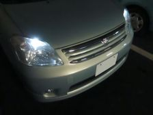 Description Toyota Raum UANCZ20AHPXK(S), front enlarged view JPG