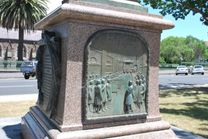 File:Ballarat Peter Lalor Statue Base JPG  Wikimedia Commons