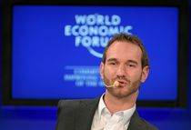 File:Nick Vujicic at the World Economic Forum Annual Meeting, Davos