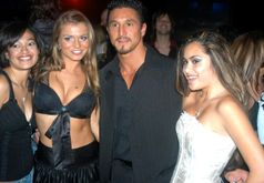 Description Rita Faltoyano, Tommy Gunn, Michelle Maylene at West Coast