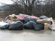 :Residential subdivision under development garbage dump jan08 1 jpg
