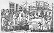 Scramble (slave auction)  Wikipedia, the free encyclopedia