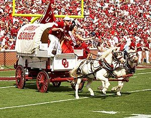 Schooner being driven by the RUF/NEKS at an OU football game in 2007