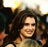 Brooke Shields at the 1998 Cannes Film Festival