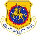 452d Air Mobility Wing emblem