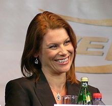 Michaela Tabb in Moskau , 2008