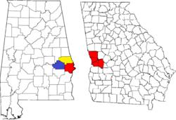 Columbus Georgia Metropolitan Area