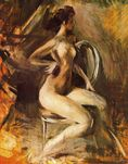 Nude  Giovanni Boldini  WikiPaintings org