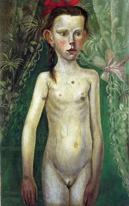 Little Girl - Otto Dix - WikiPaintings org