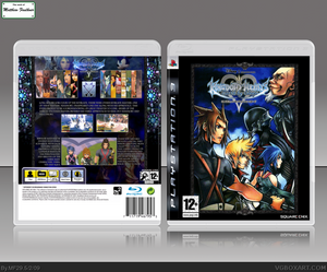 Kingdom Hearts: Birth By Sleep PlayStation 3 Box Art Cover by MF29