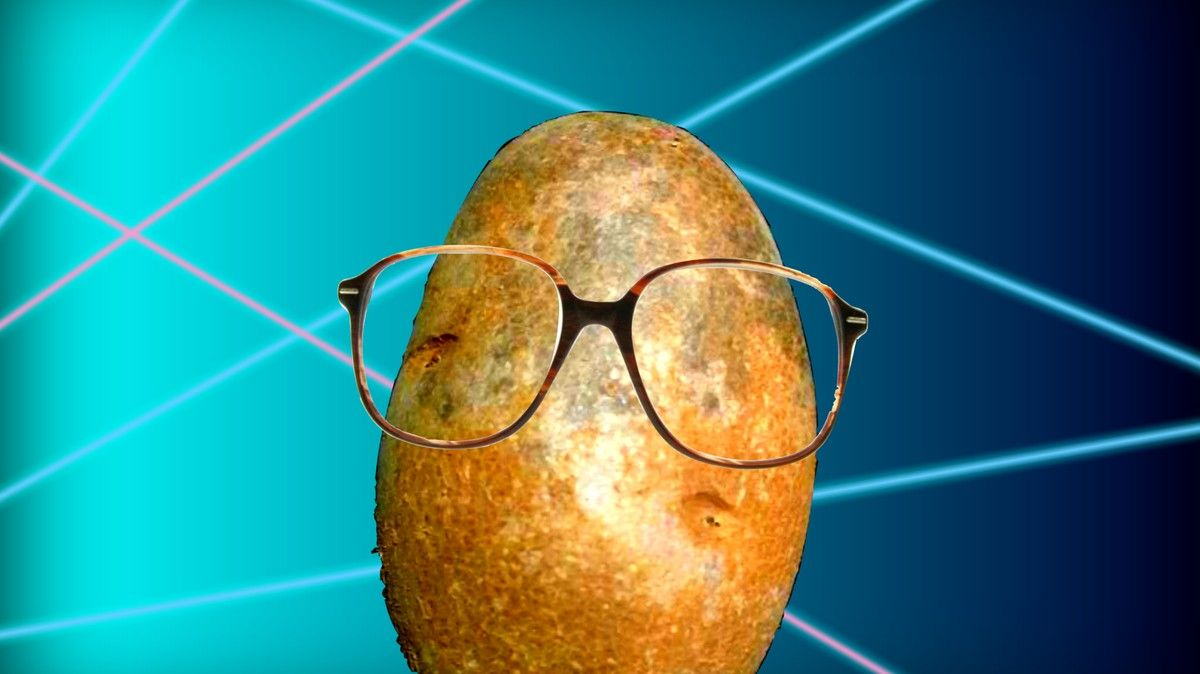 Let This Electric Love Potato onto Your Desktop and into Your Soul