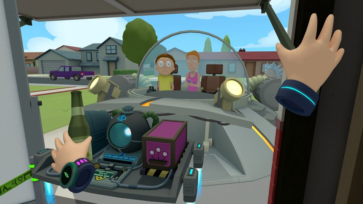 I Got High and Schwifty Inside 'Rick and Morty: Virtual Rick-ality' for 4/20