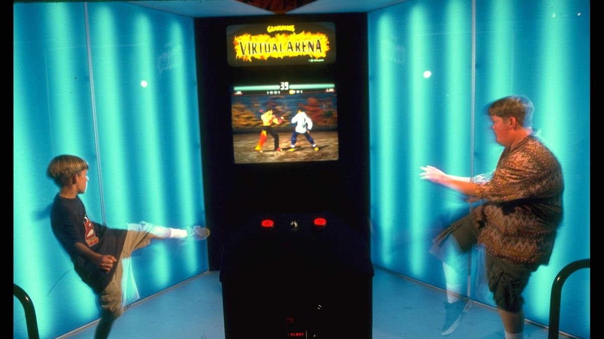 That Time Steven Spielberg and Sega Built the Arcade of Your Dreams