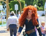 Disneyland�s Princess Merida Looks Just Like the Real Thing