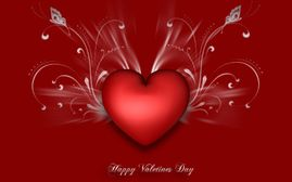 Coraz�n para San Valent�n  Wallpapers