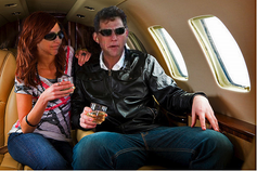 Shelly Miscavige � relaxes with David Miscavige in Tom Cruise�s
