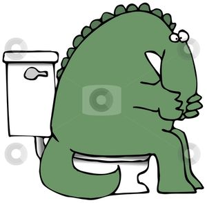 Stinky Dinosaur stock photo - Download dinosaur Royalty Free Images