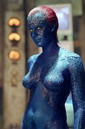 Jennifer Lawrence naked and blue
