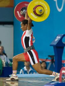 Dika Toua won a gold medal but missed out on two  Photo: Jon Greenland