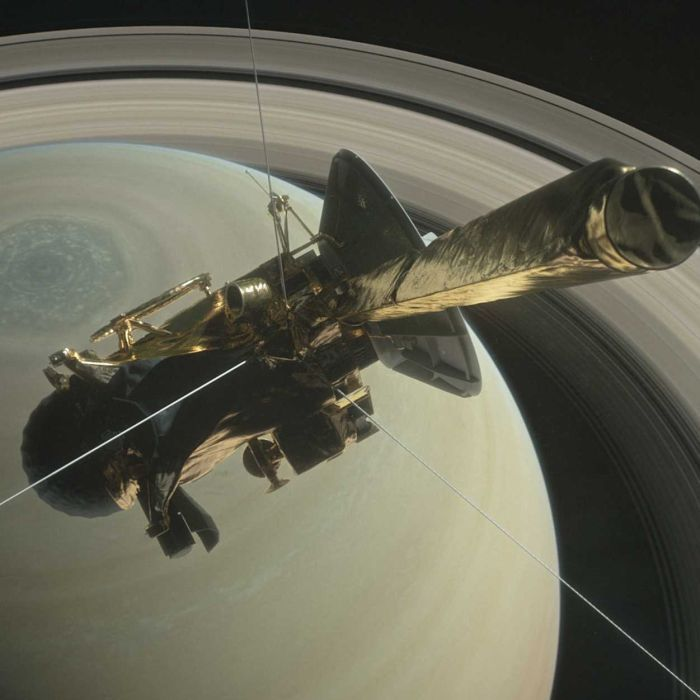 Countdown to Cassini's deadly dive into Saturn