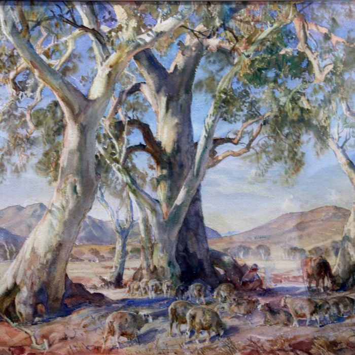 Heysen masterpiece discovered in Germany breaks auction record