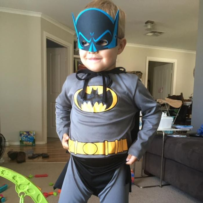 Superhero Batman inspires three-year-old boy's cancer fight