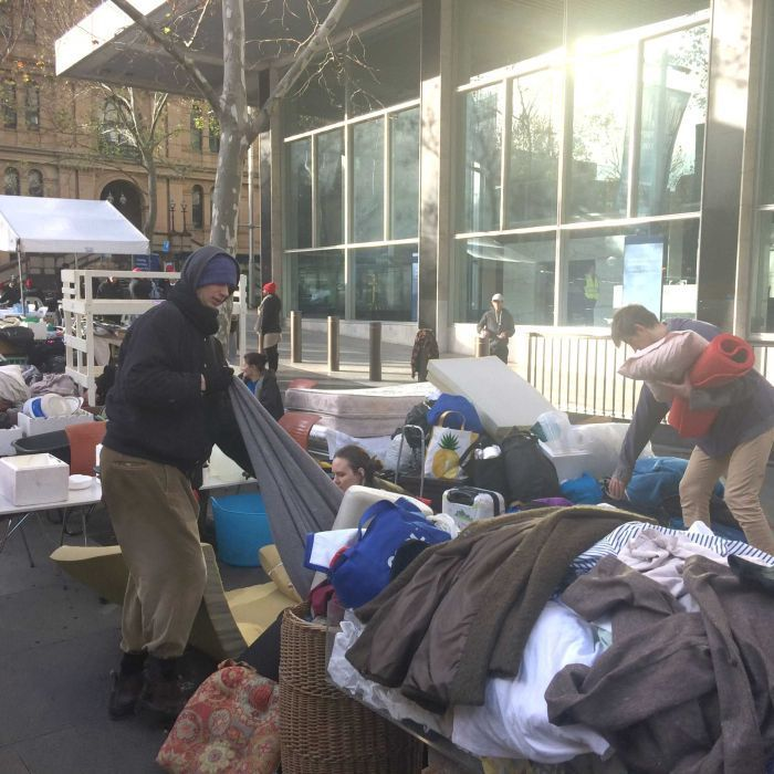 Sydney homeless evicted from Martin Place by council for being 'public nuisance' - ABC Online