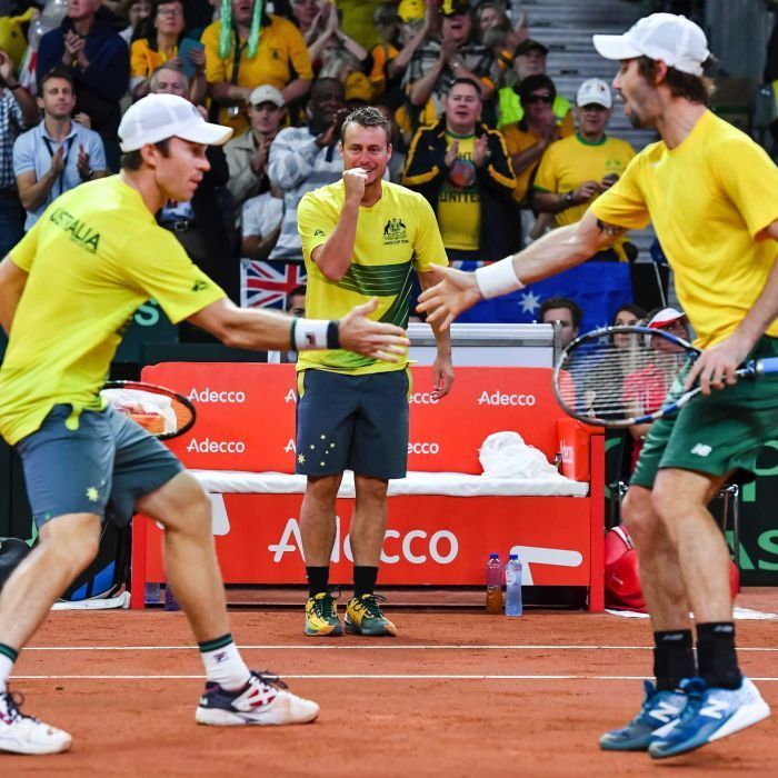Peers, Thompson give Australia crucial Davis Cup semis lead over Belgium