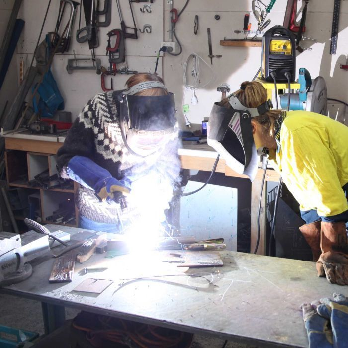 Men's shed opening their doors for women to learn welding skills