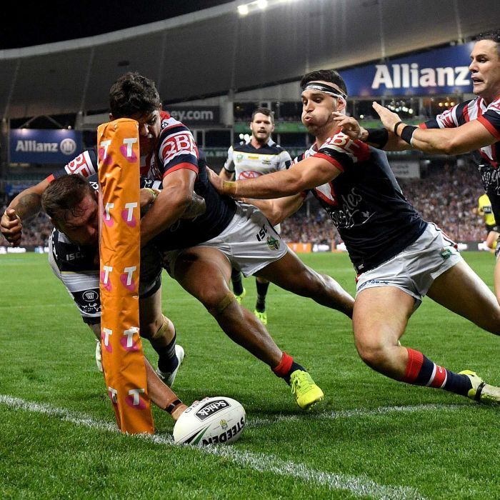 Cowboys reach second grand final in three years with win over Roosters