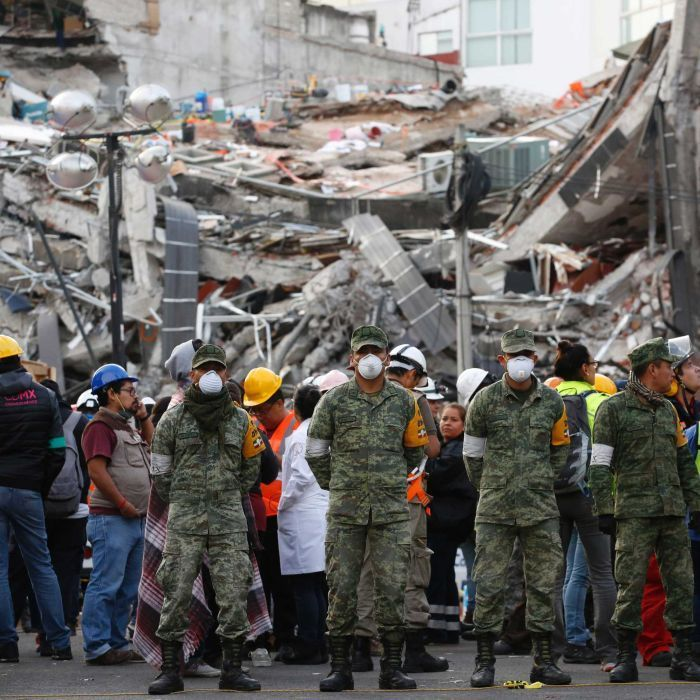 New magnitude-6.1 earthquake shakes jittery Mexico
