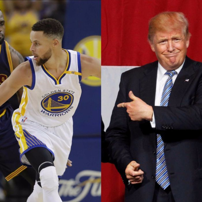 Donald Trump has opened up a war of words with both the NBA and the NFL