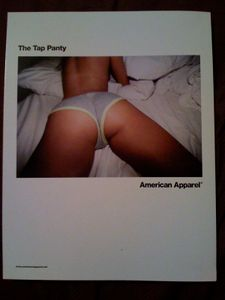 American Apparel Ass Begs to be Tapped