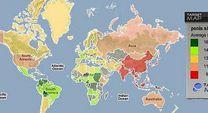 Llega el primer mapamundi de penes | Alerta Digital