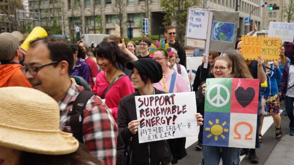 March for Science kicks off in Asia-Pacific