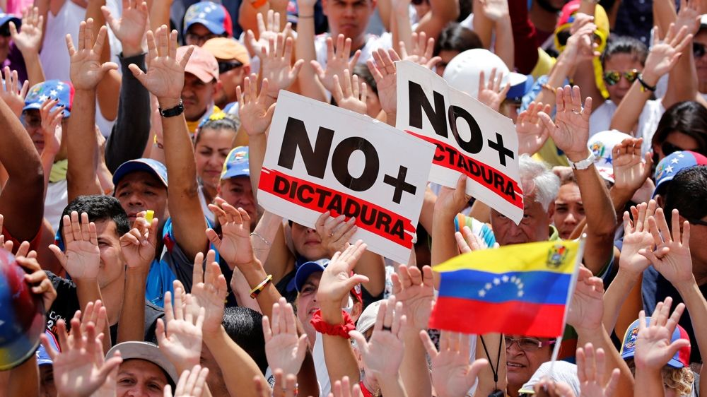Huge marches as Venezuela marks 50 days of protest